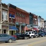 Front Street, Dowagiac, Mich.