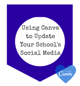 Using Canva to Update Social Media